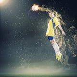 Футболист стоковое фото