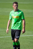 Футболист Granit Xhaka в платье Borussia Monchengladbach Стоковое Фото