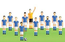 Футбол или футбольная команда Стоковые Изображения RF