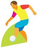 Футбол капая Стоковая Фотография RF