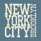 Футболка Нью-Йорка Стоковые Изображения RF