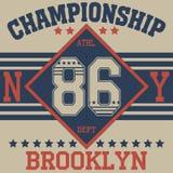 Футболка оформления Нью-Йорка бесплатная иллюстрация