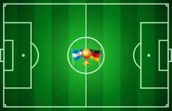 Футбол кубка мира иллюстрация вектора