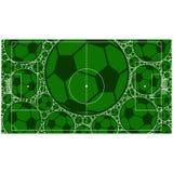 футбол поля конструкции вы Стоковое Фото