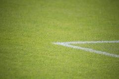 футбол поля конструкции вы Стоковая Фотография
