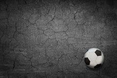 Футбол против Стоковое Изображение