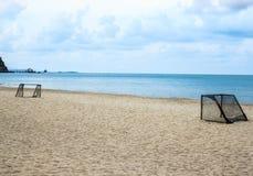 Футбол пляжа Таиланда Стоковые Изображения RF