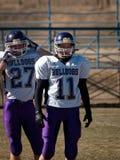 Футбол средней школы Стоковые Фотографии RF