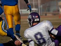 Футбол средней школы Стоковое Фото