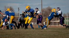 Футбол средней школы Стоковые Изображения RF