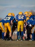 Футбол средней школы Стоковые Изображения