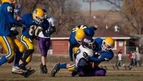 Футбол средней школы Стоковое Изображение RF