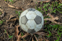 футбол старый Стоковое Фото