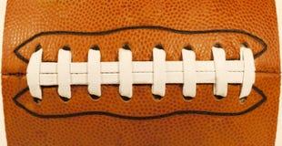 Футбол США шнуровки Стоковые Фото