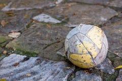 футбол шарика пакостный Стоковое фото RF
