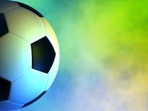 футбол шарика предпосылки волнистый Стоковые Фотографии RF