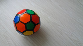 футбол шарика цветастый Стоковая Фотография RF