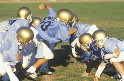 Футбольная лига молодости стоковые изображения