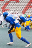 Футбольная игра американца нападения Стоковое Изображение RF