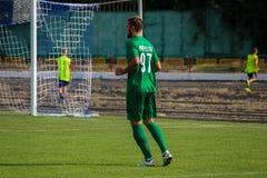 футбольная игра футбол Молдавская лига профессионального футбола Стоковое Изображение RF