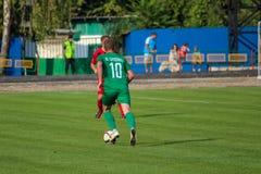 футбольная игра футбол Молдавская лига профессионального футбола Стоковое Фото