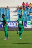 футбольная игра футбол Молдавская лига профессионального футбола Стоковые Изображения