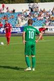 футбольная игра футбол Молдавская лига профессионального футбола Стоковое Изображение