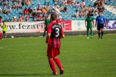 футбольная игра футбол Молдавская лига профессионального футбола Стоковая Фотография RF