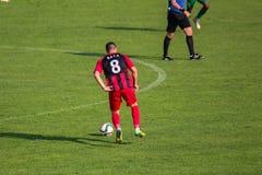 футбольная игра футбол Молдавская лига профессионального футбола Стоковые Фото
