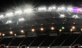 Футбольное поле: Май: Национальный стадион Бангкок Таиланд стоковые фото