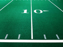 Футбольное поле для спорт и достижения Стоковая Фотография RF