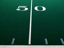Футбольное поле для спорт и достижения Стоковые Изображения RF