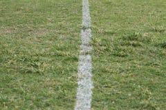 Футбольное поле Стоковые Изображения