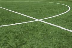 Футбольное поле Стоковые Изображения RF