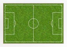 Футбольное поле Стоковые Фото