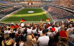 Футбольные болельщики Германии Стоковые Изображения RF