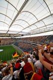 Футбольные болельщики Германии Стоковое Изображение RF