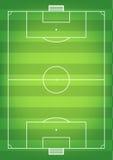 Футбольные поля Стоковые Фотографии RF