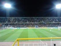 Футбольный матч Стоковая Фотография RF