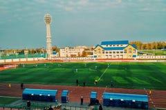 Футбольный матч Стоковое Фото