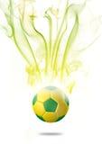 футбольный мяч 2014 с влиянием Стоковое Фото