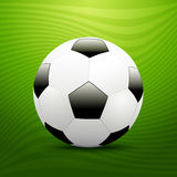 Футбольный мяч. Стоковая Фотография RF