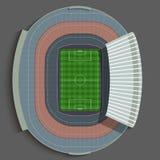 Футбольный стадион Барселоны Стоковое Изображение RF