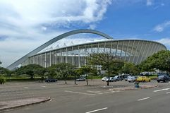 Футбольный стадион Моисея Mabhida в Дурбане стоковая фотография rf