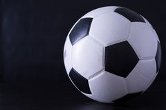 Футбол для спорта игрока Стоковая Фотография RF