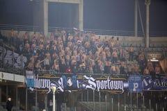 Футбол: Korona Kielce - Wisla Plock Стоковая Фотография