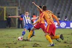 Футбол: Korona Kielce - Wisla Plock Стоковое Изображение RF