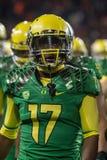 Футбол NCAA - Орегон на положении Орегона Стоковое Изображение
