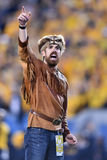 2015 футбол NCAA - положение Оклахомы на Западной Вирджинии Стоковые Фотографии RF