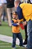 2015 футбол NCAA - положение Оклахомы на Западной Вирджинии Стоковые Фото
